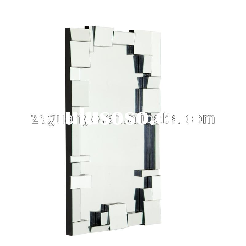 home decor unique modern design elegant 3d art wall mirror