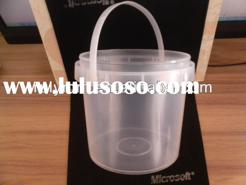 plastic food bucket / tub/ pail / keg