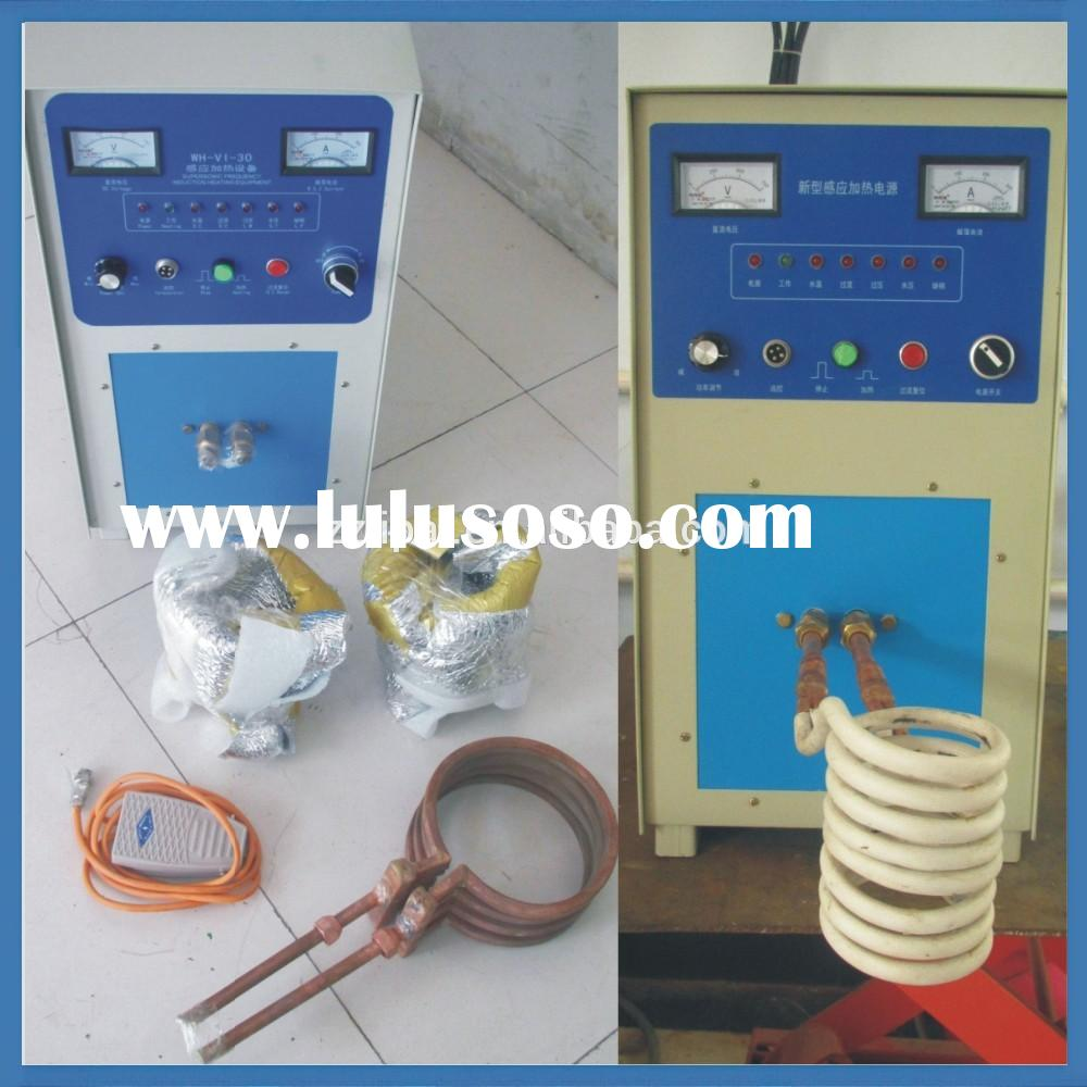 portable small precious metal copper aluminum gold sliver induction melting furnace for sale