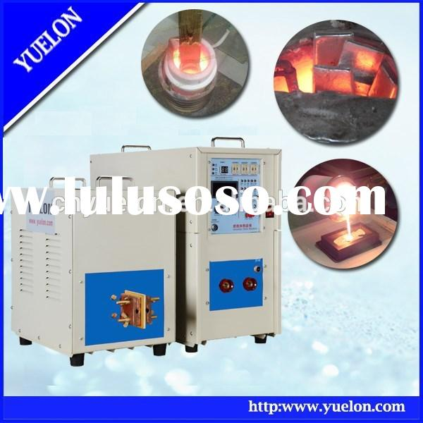 small portable heating speed frequency gold silver copper steel Induction Melting Furnace