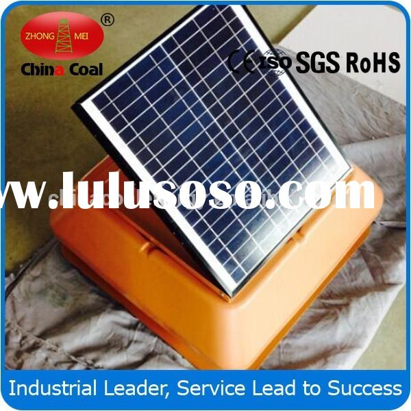 solar gable attic fan Greenhouse use solar powered attic vent fan in Animal Breeding House