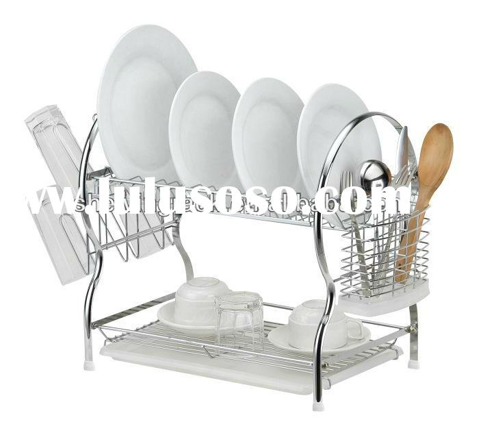 2 tier Dish Drainer with drip tray