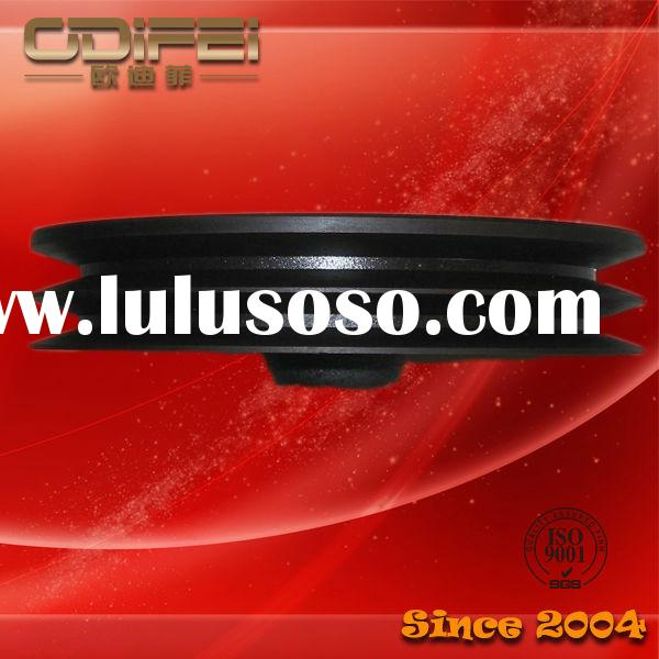 Auto motor air condition compressor pulley zinc coat