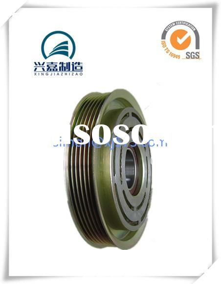 Auto motor air condition compressor pulleys zinc coat