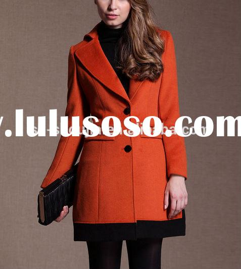 Autumn/ Winter women long coat turkey / women's Coat keep warm