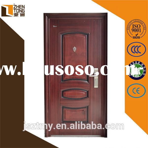 High quality steel frame custom fire rated door,commercial exterior fire rated steel doors