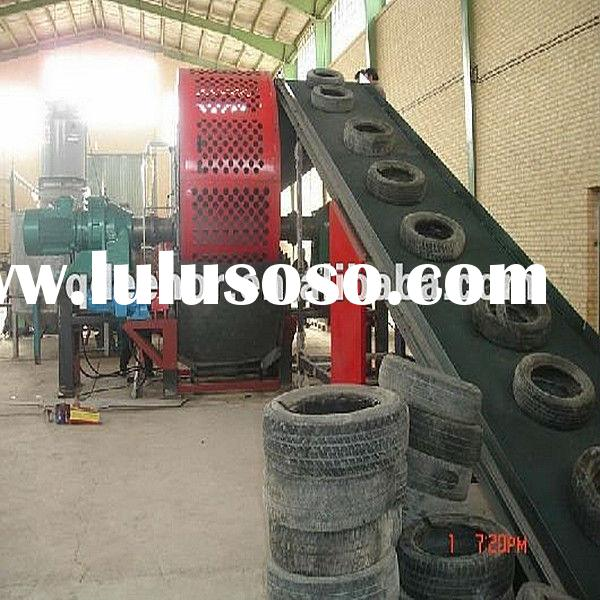 High-efficiency portable used Tire Shredder for sale