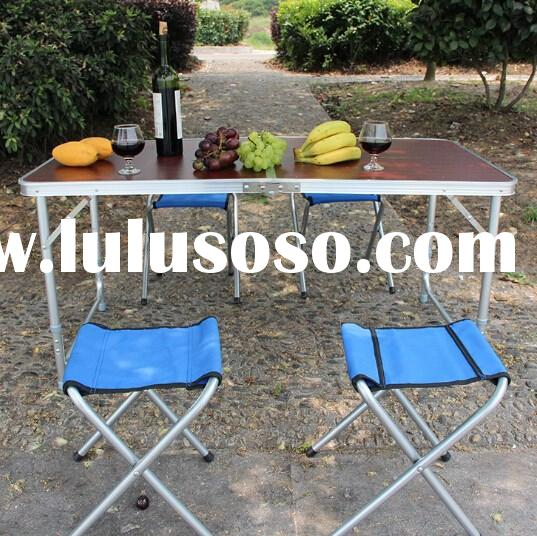 Hot selling folding camping table / outdoor camping table / camping aluminum folding table