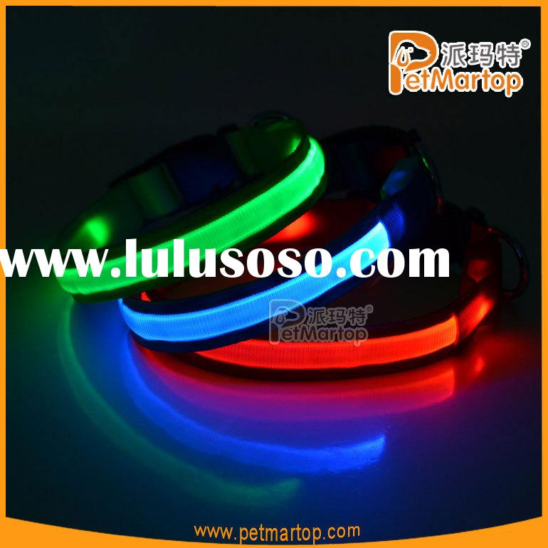 LED dog collar TZ-PET5200 flashing led dog collar Waterproof, bright light