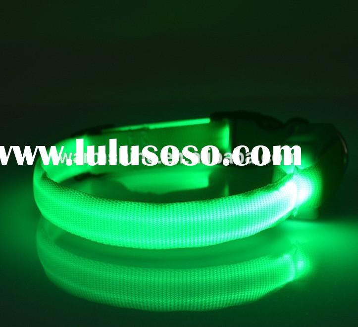 Led Pet Safety Light led dog collar for small dog, flashing lights dog collar