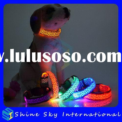 Low Price Most Popular Dog Collar Flashing Lights