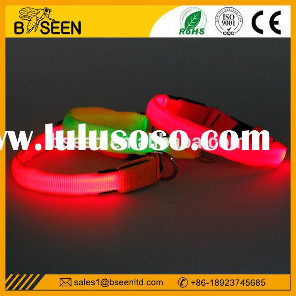 Luminous LED Dog Collar led flashing light for pet