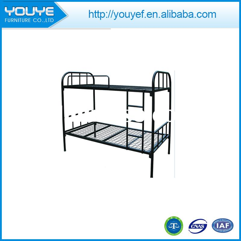Multifunctional Popular sale metal double deck bed for wholesales