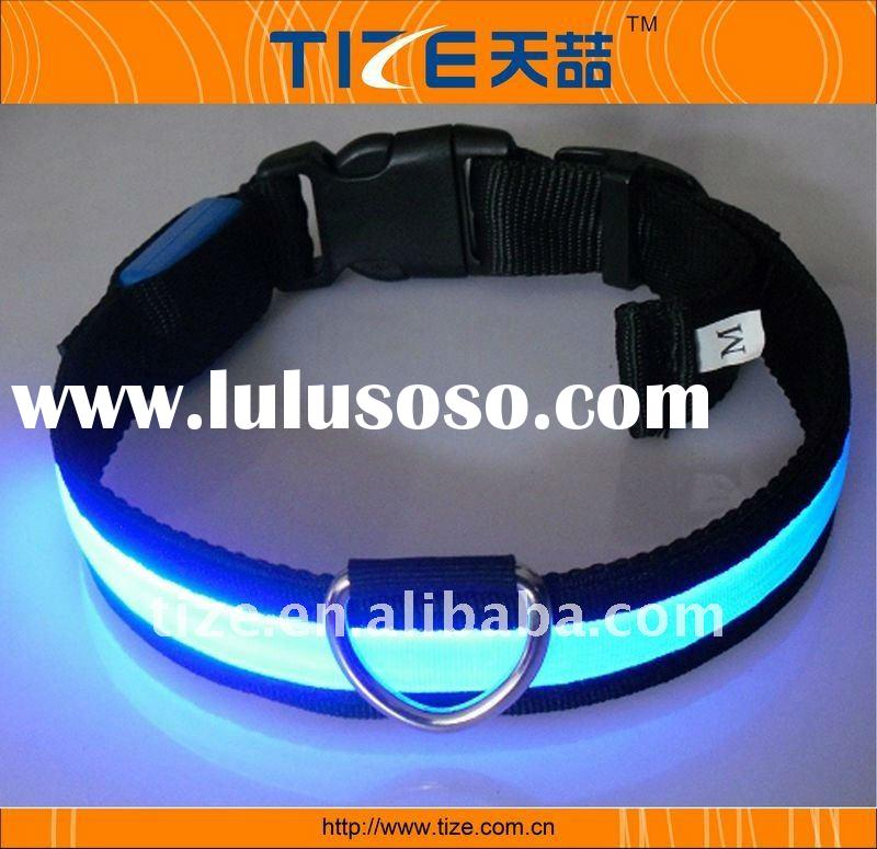 Reflective Led light dog collar flashing led dog collar dog collar led lights TZ-PET1041