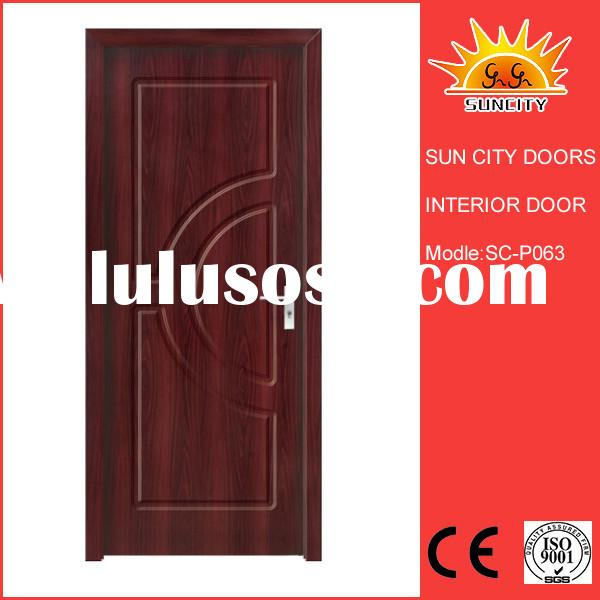 Suncity high quality security interior commercial steel frame door SC-W063