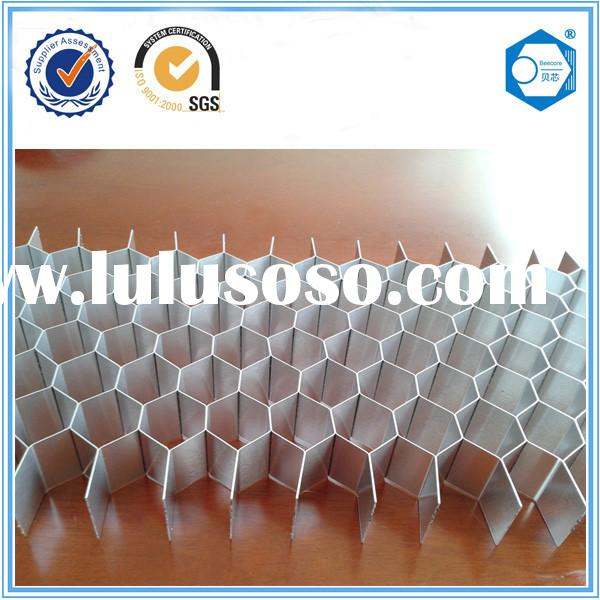 Suzhou Fireproof Material for Fireplace Aluminum Honeycomb Core