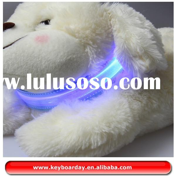 Waterproof Dog led collar and leash, Led Dog collar, flashing lights dog collar lights up very brigh