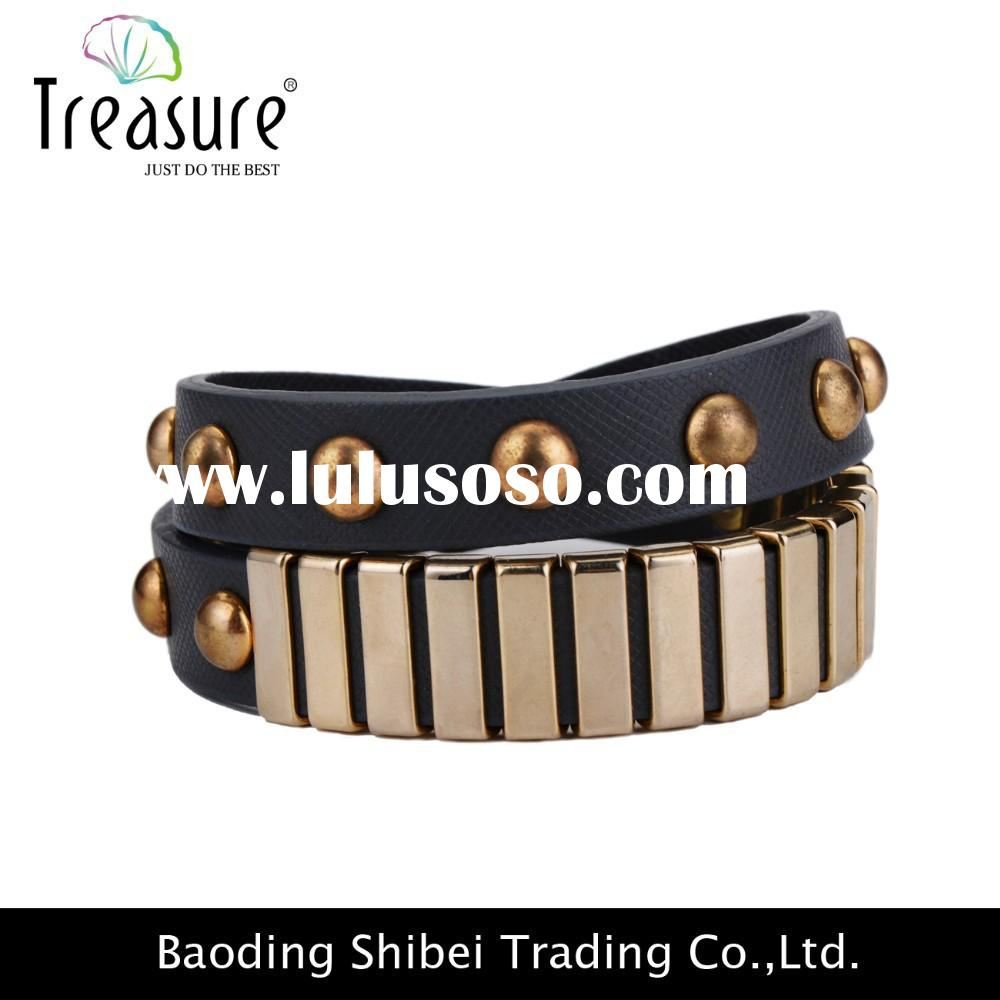 Wholesale 2015 Fashiongold bangles,handmade bracelet for women,costume jewelry