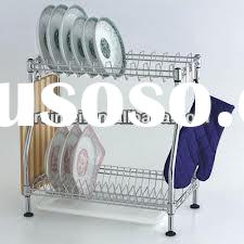 Wholesale Christmas Kitchen Rack,Dish Drainer with Drip Tray