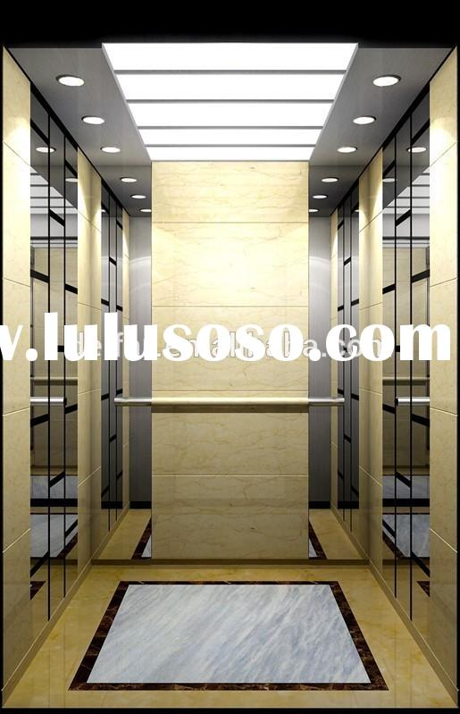 china etching mirror used home elevators for sale