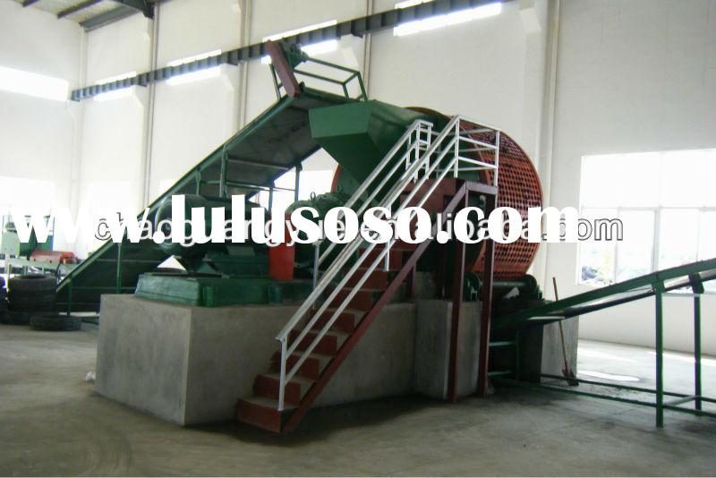 competitive price used tire shredder for sale