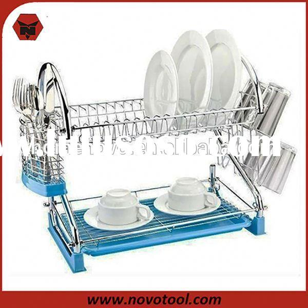 dish drainer with drip tray