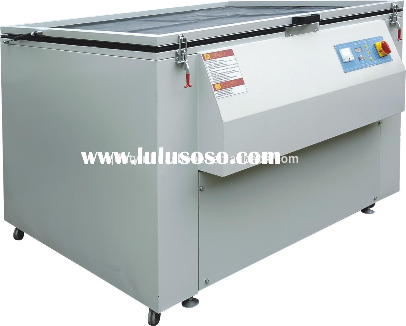 microcomputer controlled silk screen printing exposure machine for sale