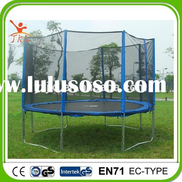 15ft hot sale trampoline discount with safety enclosure for sale