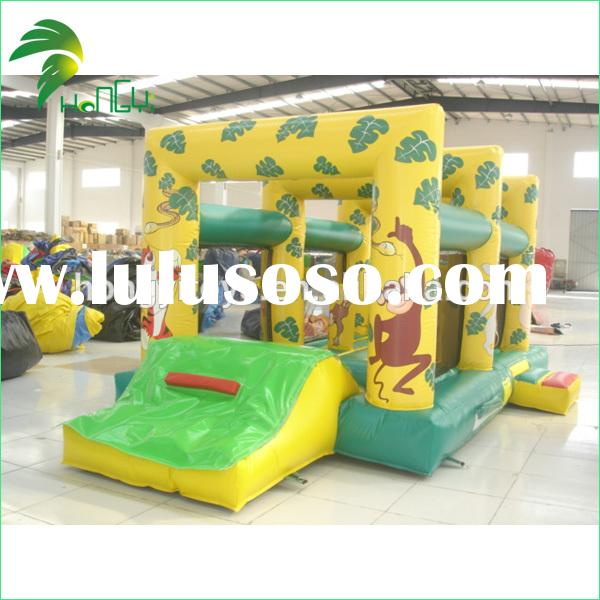 2014 Big Discount On Sale PVC Kids Active Trampoline
