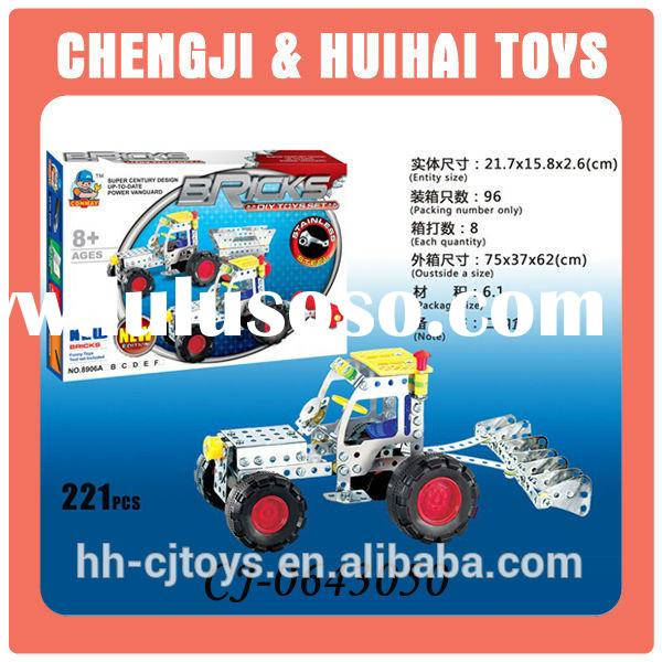 2014 new intelligent diy metal construction toys with EN71