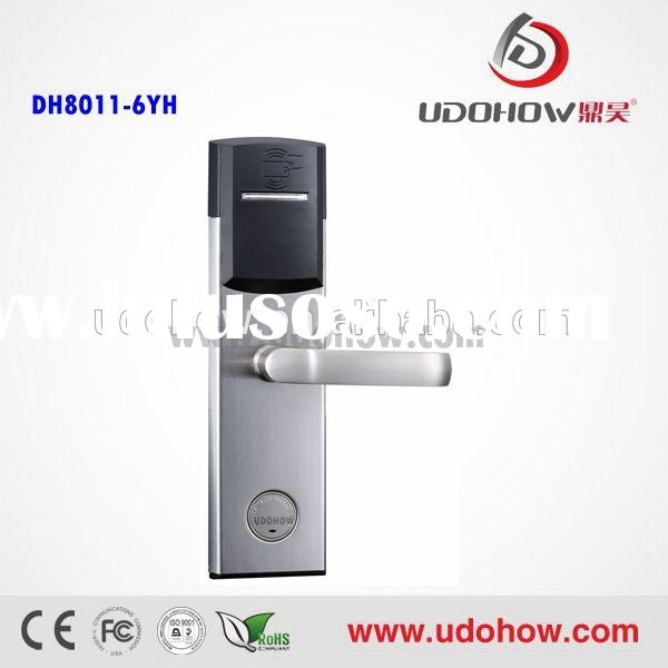 2014 new keyless entry door lock supplier system of professional electronic lock factory(DH8011-6Y)