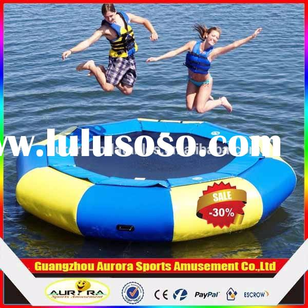 30% discount inflatable water trampoline / water jumping bed cheap on sale