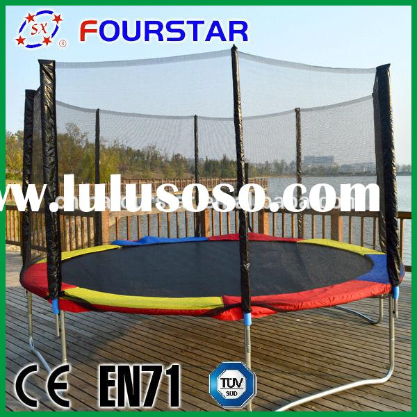 BIG discount!! high quality and professional 12FT bungee trampoline for sale,NJ-BIG12