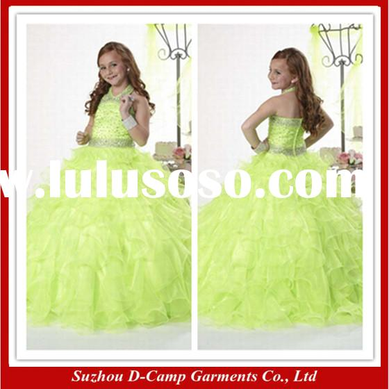 FG-133 Ball gowns for children long dresses ball gown wedding dresses with sleeves