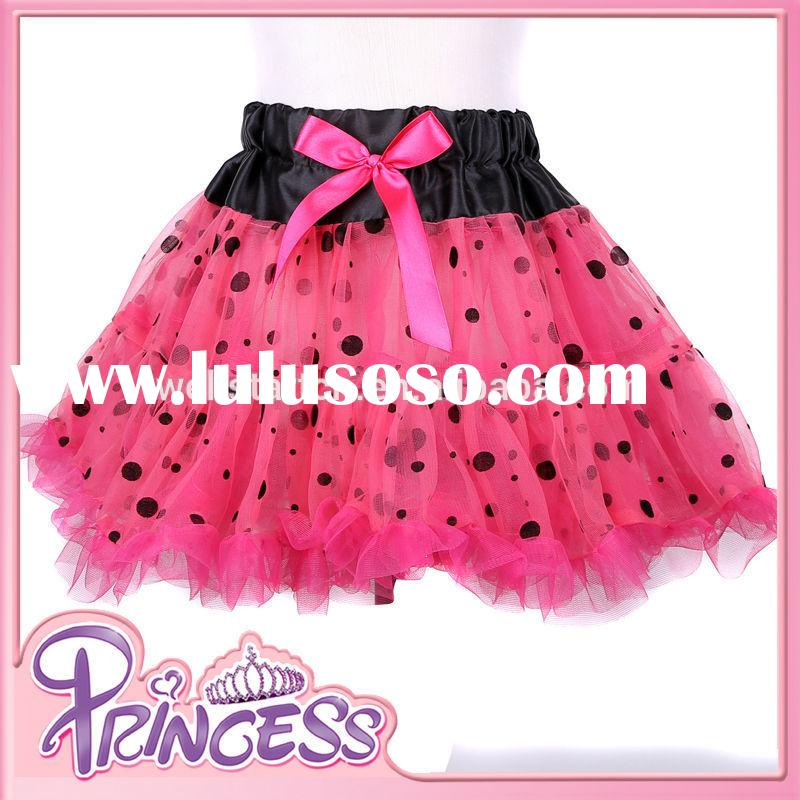 HS-1037 2015 Newborn girls tutu dress High Quality Hot pink tulle tutu dress with ribbon bow Party m