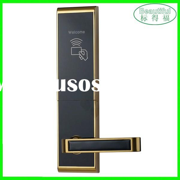 High quality security hotel card door lock system