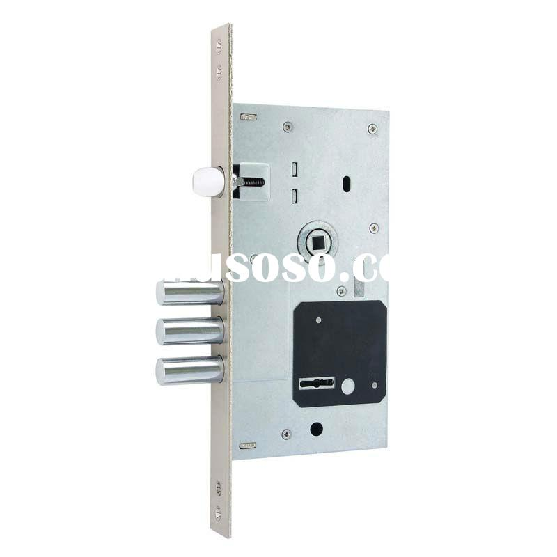 SY-252RL 85mm*60mm high security Russian key door lock with handle and steel roundbolt