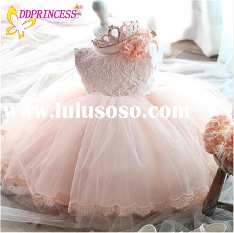 Wholesalers china princess costumes for kids dress baby lace wedding dresses ivory pretty baby girls