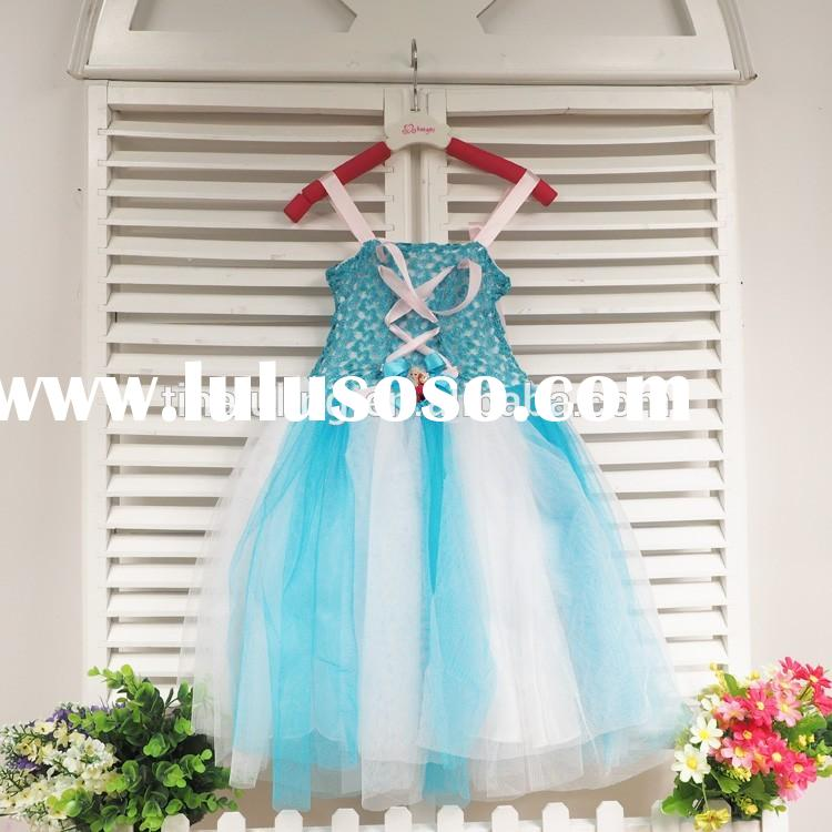 girls party dress fashion children fancy tutu dress new tutu crochet dress for wedding
