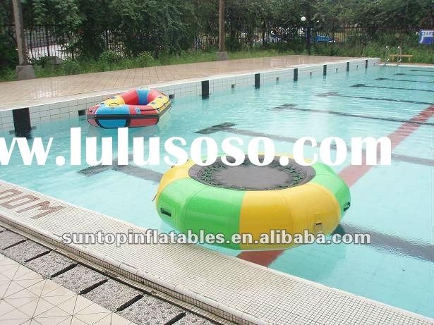 price discount mini children inflatable water trampoline for sales
