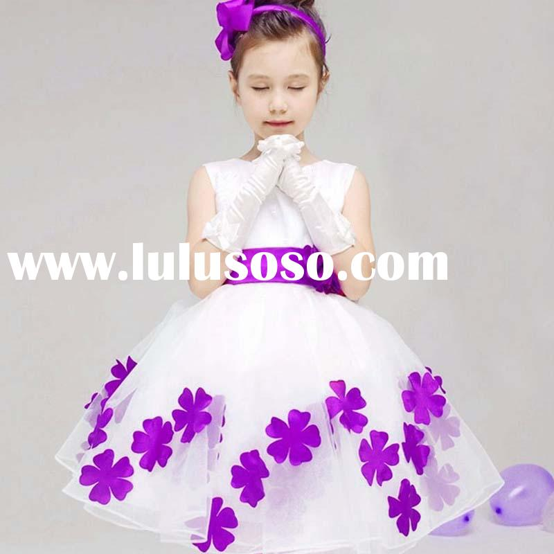 ta1196 children formal clothes hot sale princess girl dresses for wedding
