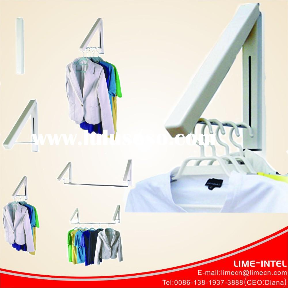wall mounted folding laundry rack/wonder hanger as seen on tv