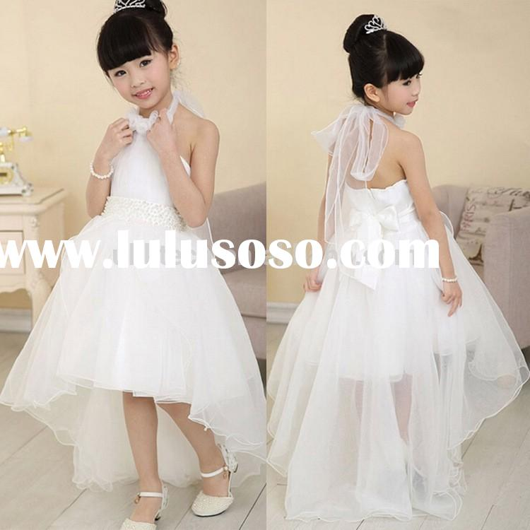 wedding dress for child baby girl maxi wedding dress