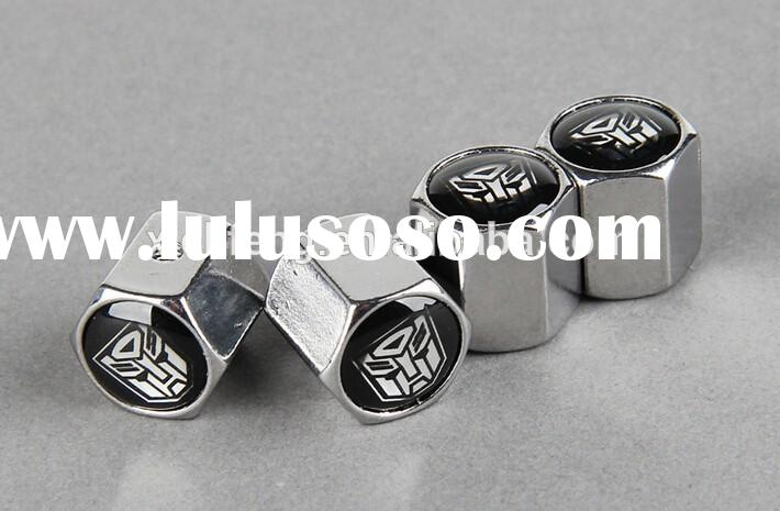 Customize auto Tire Valve Caps with Locking Tools car tire valve caps