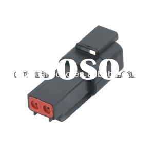 DT04-2 p 2hole automobile motor car engine lamp socket plug wire harness connector DJ3021Y - 1.6-11