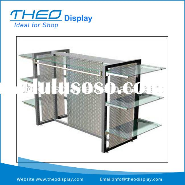 Free Standing Metal and Glass Display Case