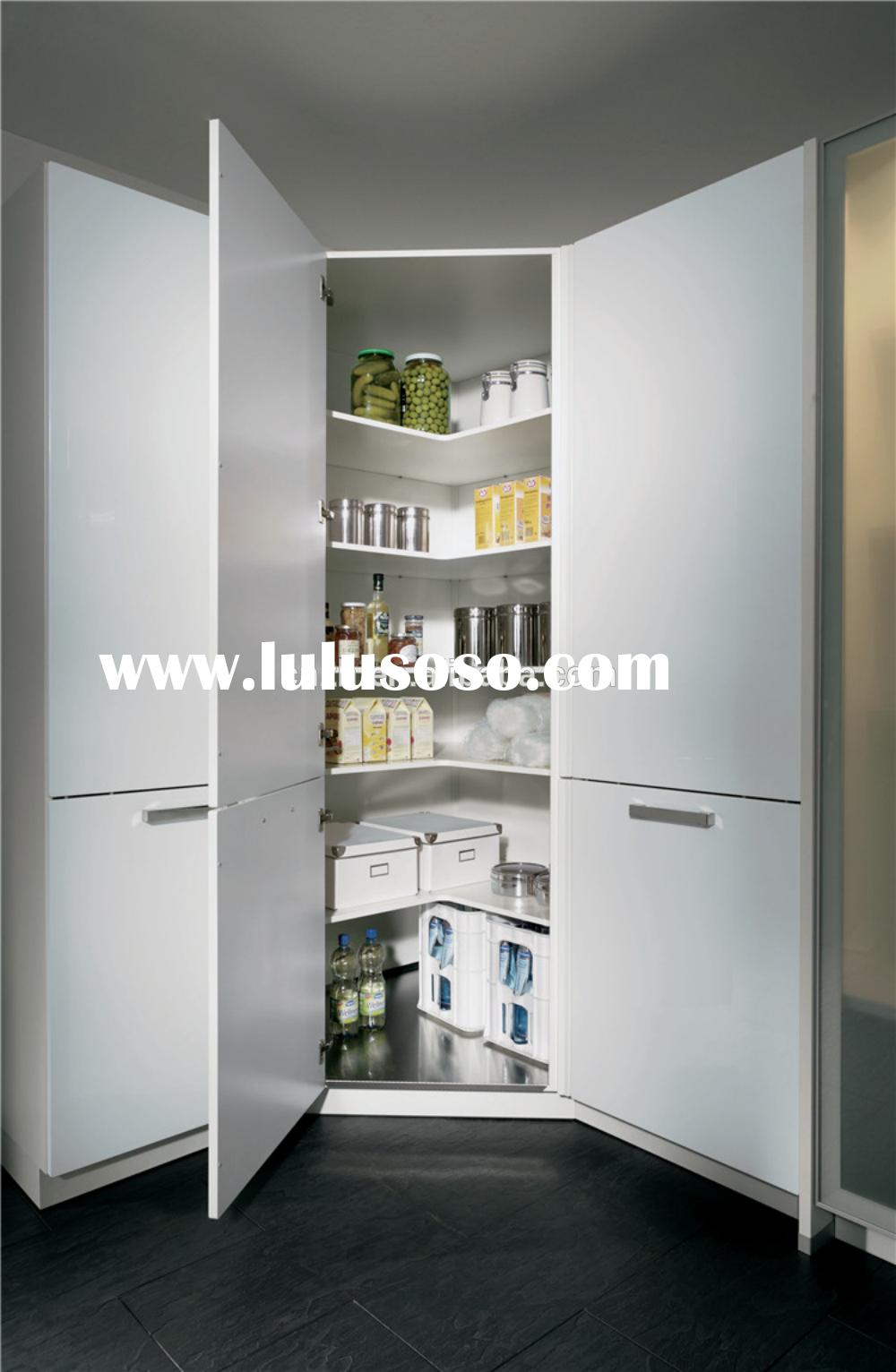 Household kitchen cabinet for food storage