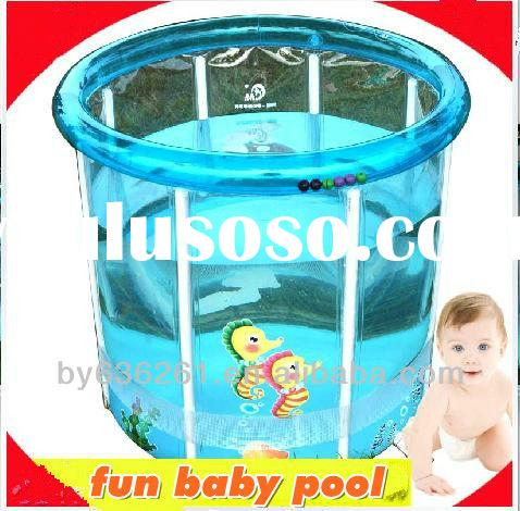 Inflatable Baby Transparent Hard Plastic Swimming Pool