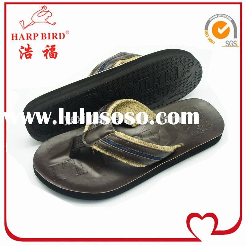Italian mens leather sandals in latest style