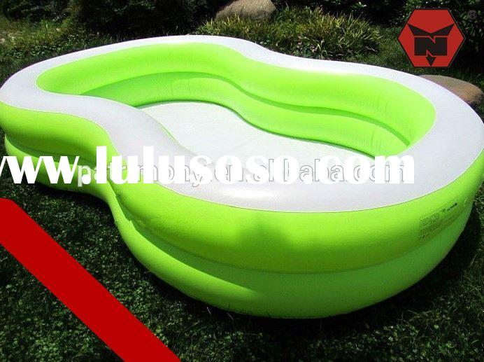 PVC Inflatable Baby Children's Pool with Air Pump,Hard Plastic Swimming Pools